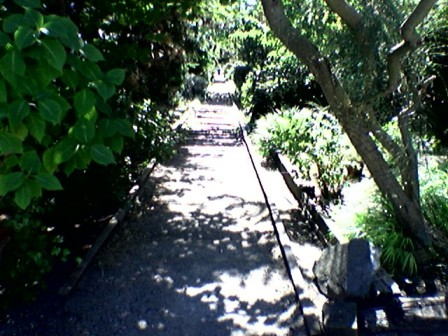 walkway along South Lake Union, Seattle.