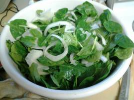 white spinach
