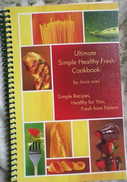 Ultimate Simple Healthy Fresh Cookbook (1/6)