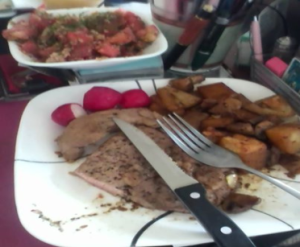 Pan Fried Steak